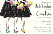 Product Image For Snazzy Maids Invitation
