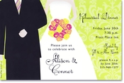 Product Image For Snazzy Wedding Invitation