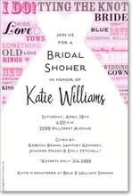 Product Image For Bride Speak Invitation