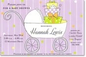 Product Image For Gift <em>Buggy</em> Invitation