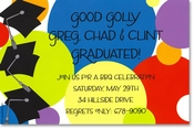 Product Image For Tri Grad Invitation