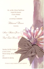 Product Image For Pastel & Pewter Invitation