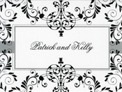 Product Image For Ink Flourish Notecard