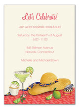 Product Image For Margarita Invitation