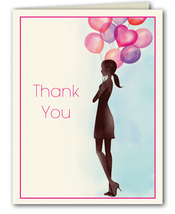 Product Image For Party Balloon girl Thank You