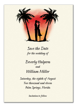 Product Image For Sunset Sweethearts Invitation