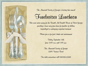 Product Image For Flatware Invitation