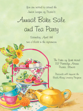Product Image For Tea Treats Invitation