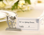 Product Image For Love Place Card Holder/ photo Holder with Cards
