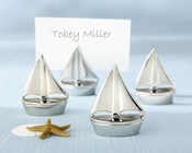 Product Image For Shining Sails Silver Place Card Holders