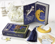 Product Image For Over the Moon Vintage Moon Bookmark with Tassel