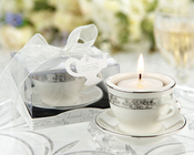 Product Image For Teacups and Tealights Miniature Porcelain Tealight Holder