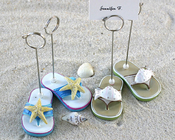 Product Image For Beachcombers Flip Flop Placecard Holders - Set of 4