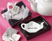 Product Image For Swee-Tea Ceramic Tea Bag Caddy In Gift Box