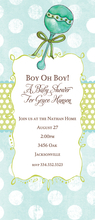 Product Image For Oh Boy Invitation