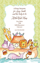 Product Image For Noah's Ark Invitation