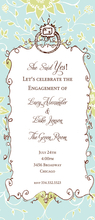 Product Image For She Said Yes Slim Invitation