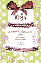 Product Image For Bow Tied Up Two Invitation