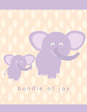 Product Image For Baby Elephant Note Card