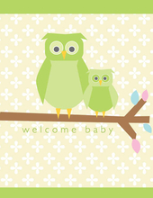 Product Image For Baby Owl Note Card