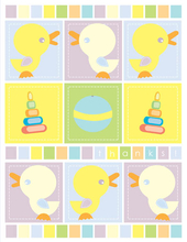 Product Image For Baby Ducks Note Card