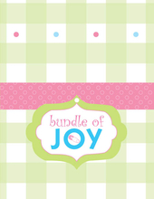Product Image For Bundle of Joy Note Card