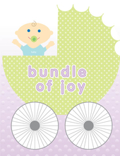 Product Image For Baby Buggy Joy Note Card