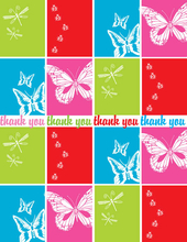 Product Image For Pretty Bugs Note Card