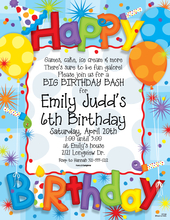 Product Image For Big Birthday Fun Laser Paper