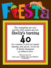 Product Image For Let's Fiesta Invitation