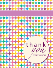 Product Image For Color Me Thankful Note Card