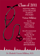 Product Image For Med School Grad Invitation