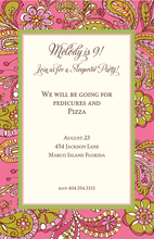 Product Image For Pinky Swear Invitation
