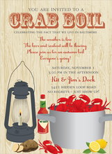 Product Image For Crab Boil Invitation