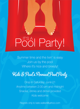 Product Image For Pool Float Invitation