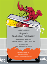 Product Image For Crawfish Boil Invitation