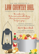 Product Image For Low Country Boil Invitation