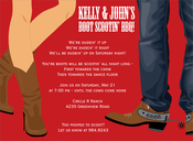Product Image For Boot Scootin Berry Invitation