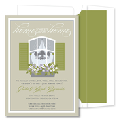 Product Image For Home Sweet Home Taupe Invitation