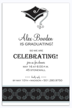 Product Image For Elegant Grad Digital Invitation