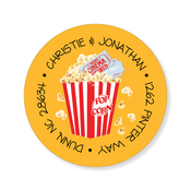Product Image For Movie Popcorn Label