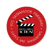 Product Image For Movie Clapper Label