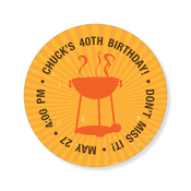 Product Image For Grill Sunburst Label