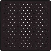 Product Image For Swiss Dots -Black  Dinner Plate