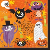 Product Image For Monster Bash Luncheon Napkin