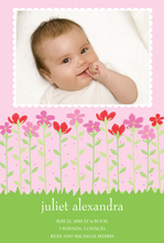 Product Image For French Flowers Digital Photo Announcement