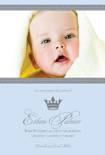 Product Image For Little Prince Digital Photo Announcement