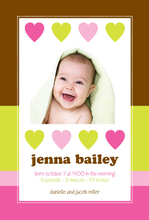 Product Image For Hearts Abound Digital Photo Announcement