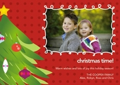 Product Image For Joyful Christmas Tree Photo Card