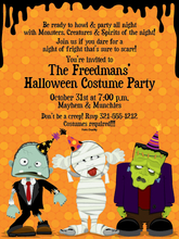 Product Image For Party Creeps Digital Invitation